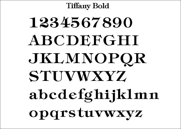 Font List For House Signs